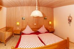 """HAUSER HOF - Appartement """"Franz"""", Schlafzimmer"""