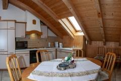 """HAUSER HOF - Suite """"Josef"""", Küche und Essbereich"""