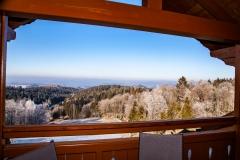 "HAUSER HOF - Appartement ""Anderl"", Ausblick vom Balkon"