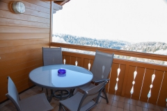 "HAUSER HOF - Appartement ""Anderl"", Balkon mit Sitzgelegenheit"