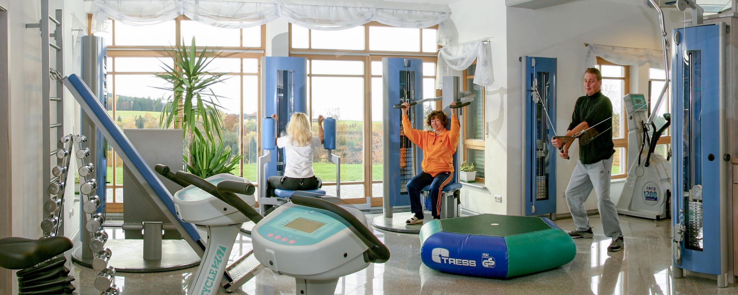 Fitnessstudio im HAUSER HOF